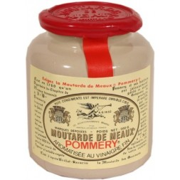 Old-fashioned Meaux mustard Pommery - large jar 500g