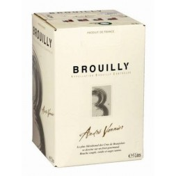 Brouilly André Vonnier rouge Bag-in-Box  5L