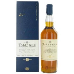 Talisker Highlands  Ile de Skye  45,8° 10 ans single malt  0,7L