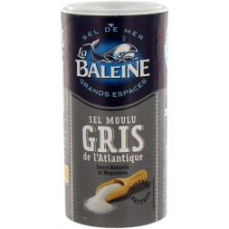 Grey Food grade sea salt La Baleine 250g