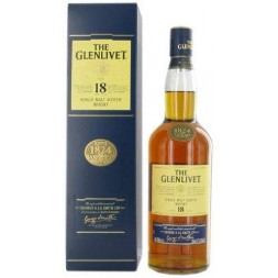 The Glenlivet Highlands Speyside Livet 18 ans  0,7L