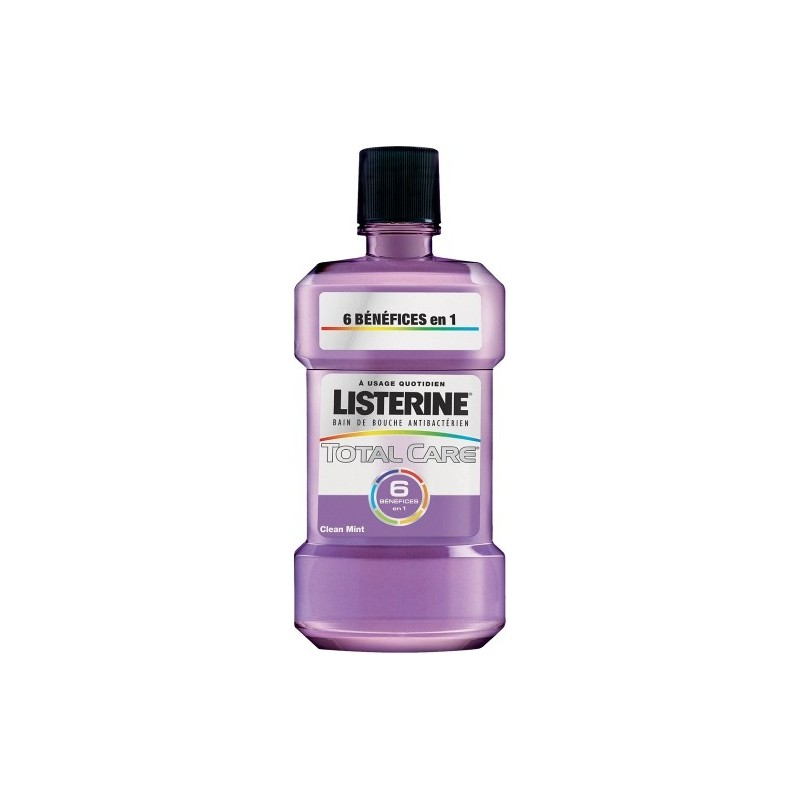 Listerine Bain de bouche Total Care 6 500ml