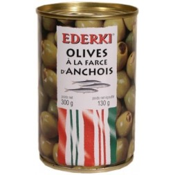 Olives with Anchovy Stuffing Ederki 300g