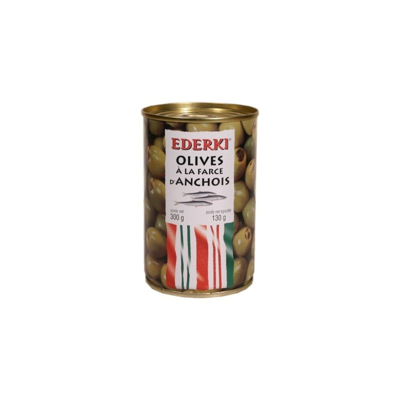 Olives à la farce d'Anchois Ederki 300g