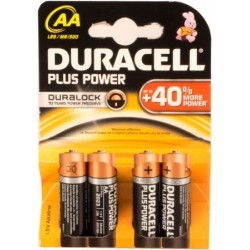 Duracell Plus Power LR6 1,5V alcaline 4U