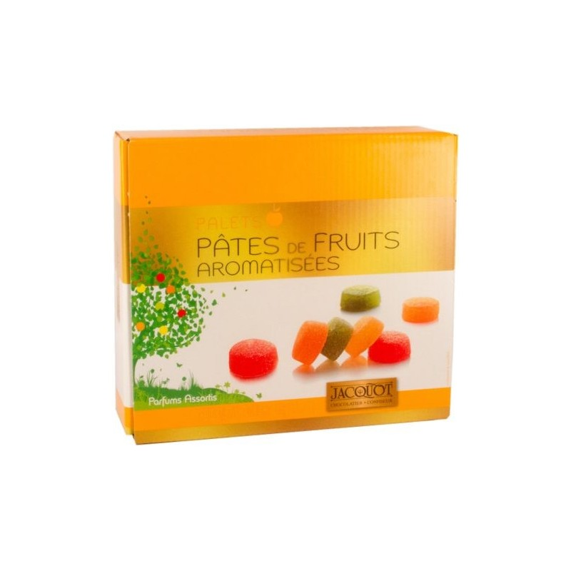 Pâtes de fruits en palets assortis Jacquot 1Kg