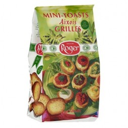 Mini grilled Aix toasts Roger 150g