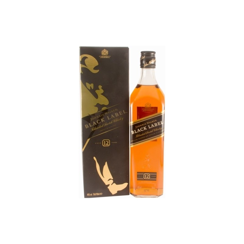 Johnny Walker Black Label 40° 12 ans 0,7L