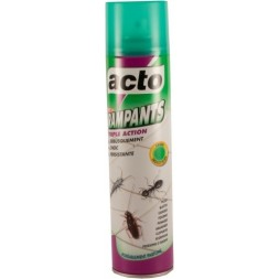 Acto insectes rampants fourmis cafards - aérosol 400ml