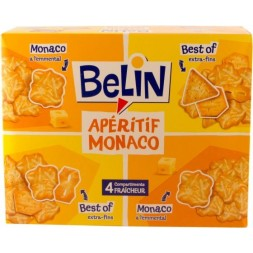 Crackers Apéritif Monaco Belin (Monaco - Best Of) 340g