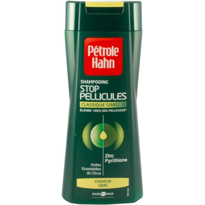 Pétrole Hahn Shampooing anti pelliculaire cheveux gras 200ml