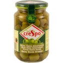 Crespo pitted green olives - small jar 370ml
