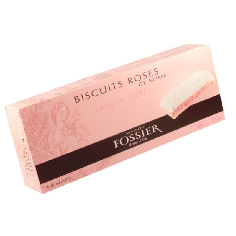 Biscuits de Reims Rose 100g