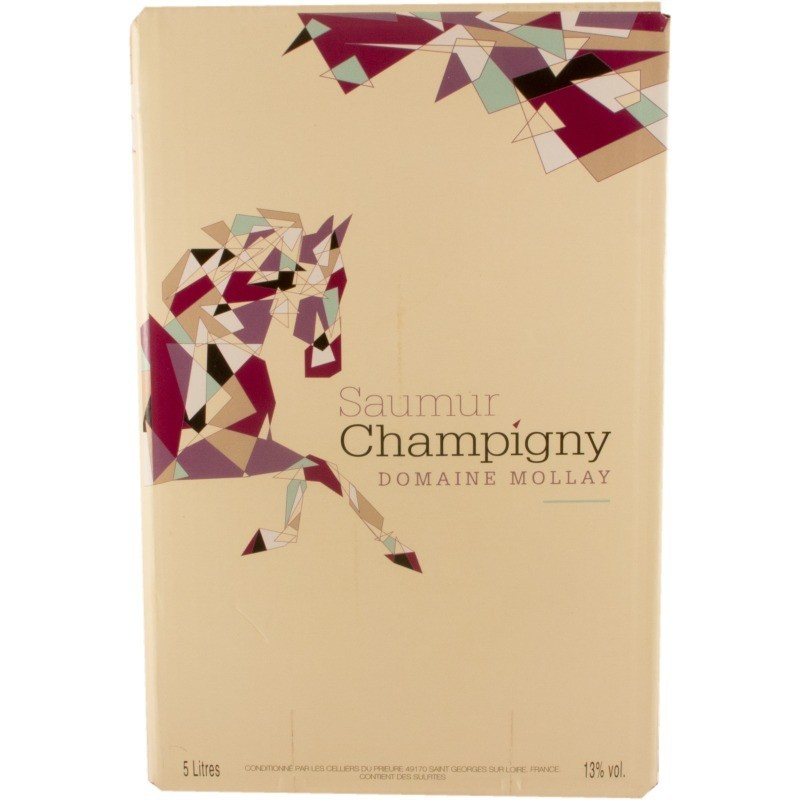 Saumur Champigny Domaine Mollay rouge Bag-in-Box 5L