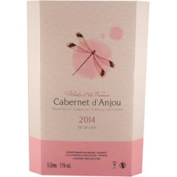 Cabernet d Anjou Michel Laurent rosé Bag-in-Box 5L