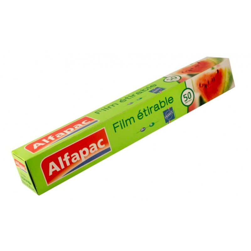 Film étirable 50 m Alfapac - Lot de 3
