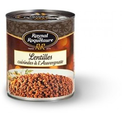 Lentils cooked with Auvergne Raynal & Roquelaure 410g