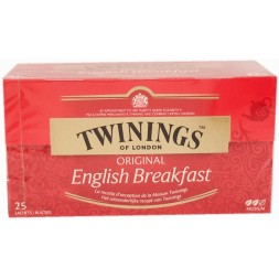 Twinings English Breakfast Tea - 25 sachets