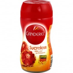 Sucralose Canderel powder - glass jar with spout 80g