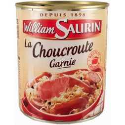 La choucroute  garnie William Saurin 800g