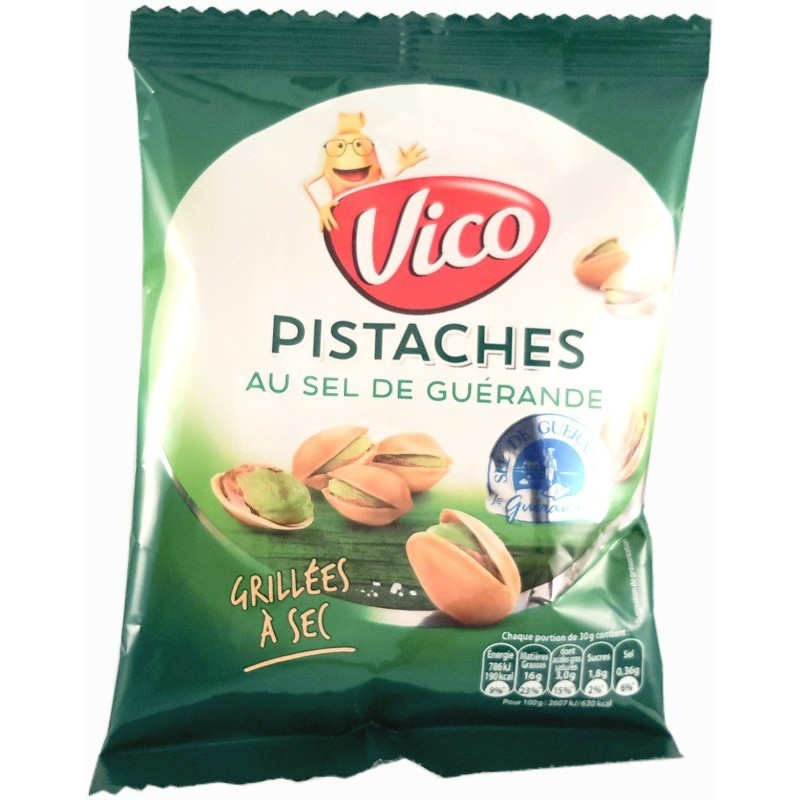 Dry roasted and salted pistachios Vico 100g