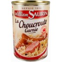 Choucroute cusiné au vin blanc William Saurin 400g