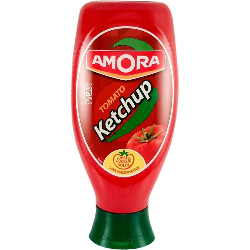 Tomato Ketchup Amora - large flexible dispenser 850g