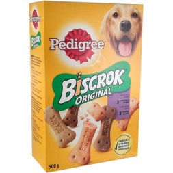 Biscrok Multi Pedigree - biscuits croquants multivariétés 500g