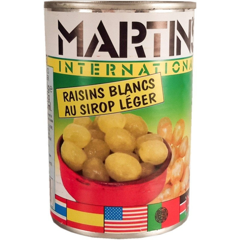 White grapes in light syrup Martins 425g