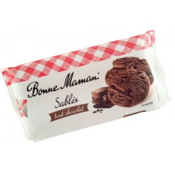 Bonne Maman Chocolate Shortbread cookies x20 250g