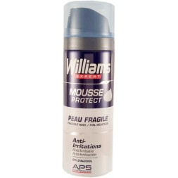 Mousse à raser peau fragile Williams 200ml