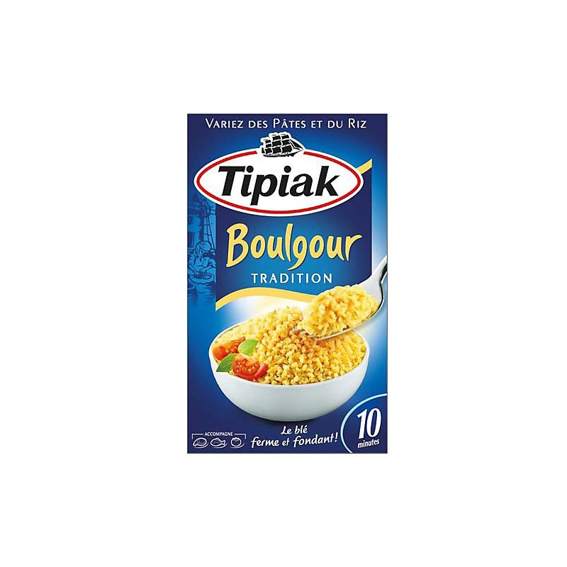 Boulgour Tradition Tipiak 500g