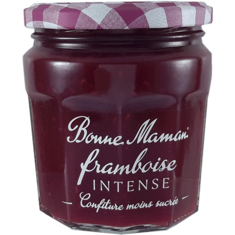 Raspberry Intense Bonne Maman Less sweet jam 335g
