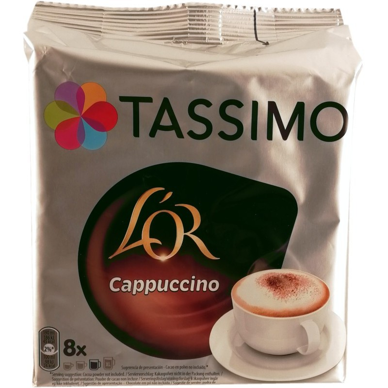 tassimo cappuccino how to make