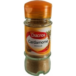 Ducros ground cardamom - 35g bottle