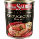 Choucroute Royale 1898 au Riesling William Saurin 800g