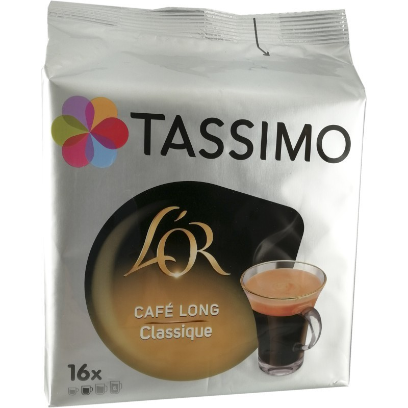 Tassimo L'Or Café long Classic pods 16U