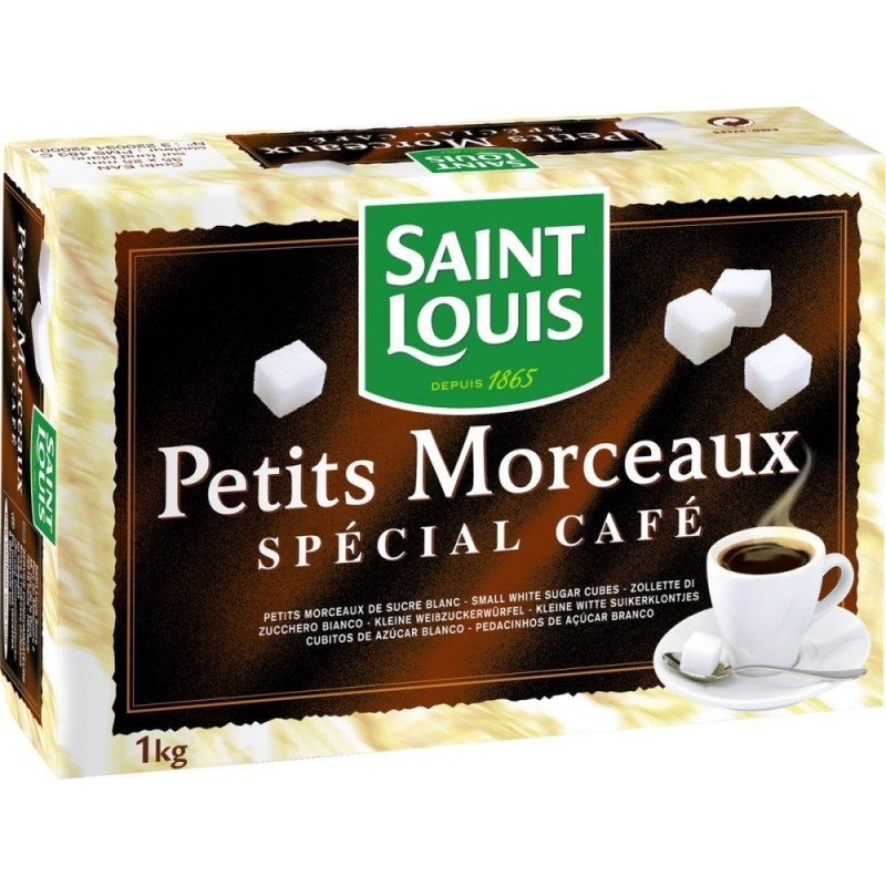 Sugar in small pieces Saint Louis 1Kg