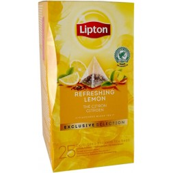 Lipton Pyramid Thé Refreshing Lemon - 25 sachets