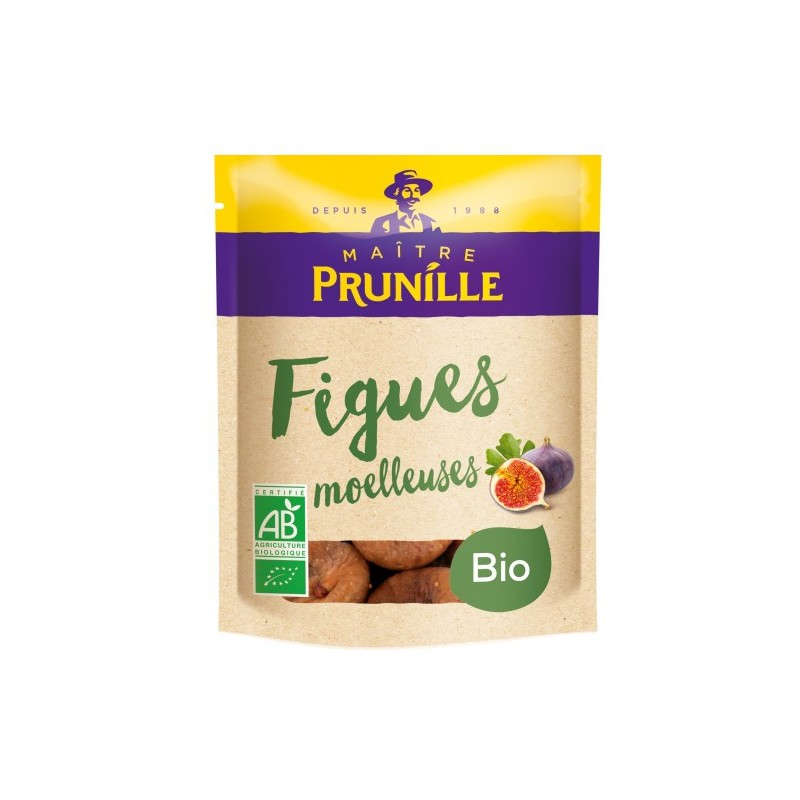 Figues sèches moelleuses Label Bio Maître Prunille 250g