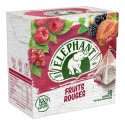 Elephant Infusion Fruits Rouges - 20 sachets 36g