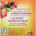 Lipton Pyramid Thé 5 fruits rouges - 20 sachets 34g