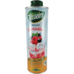 Grenadine syrup Teisseire 0.6L