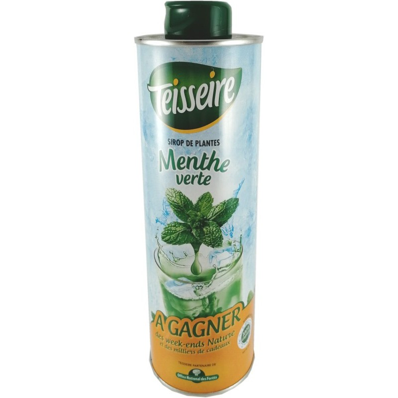 Teisseire spearmint syrup 0.75L