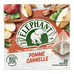 Elephant Infusion Pomme Cannelle - 20 sachets 36g