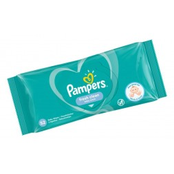 Lingettes baby fresh Pampers 52U