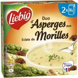 Duet Szparagów z Morel Pieces Liebig 2x300ml