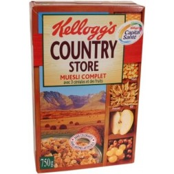 Country Store Kellogg s - avoine/son de bl