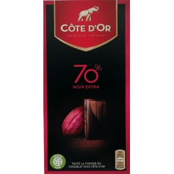 Côte d'Or Noir Intense 70% 100g