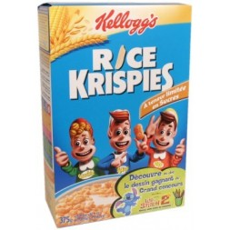 Rice Krispies Kellogg s - toasted puffed rice 375g